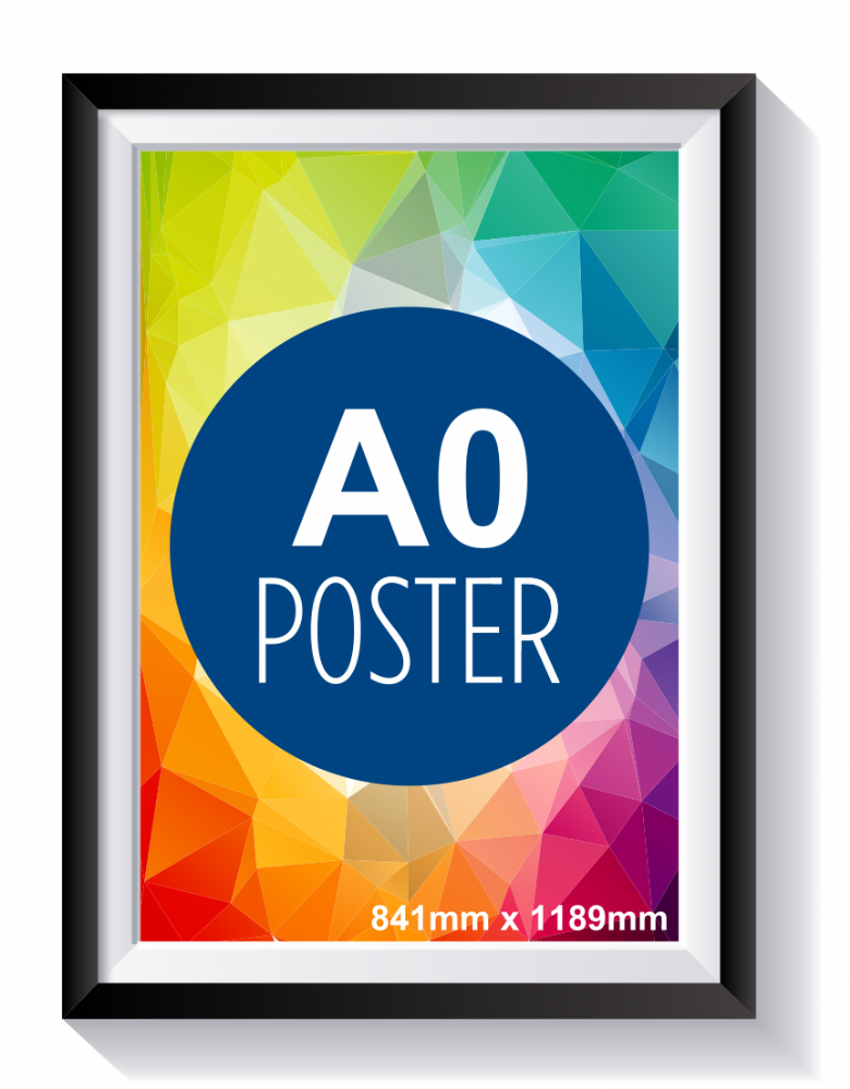 A0 Outdoor Poster
